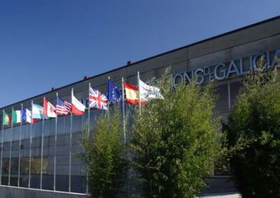 Convention centres and large spaces for events in Galicia